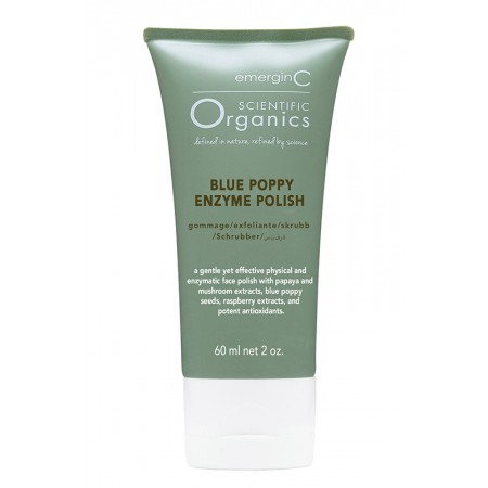 emerginC Scientific Organics Blue Poppy Enzyme Polish