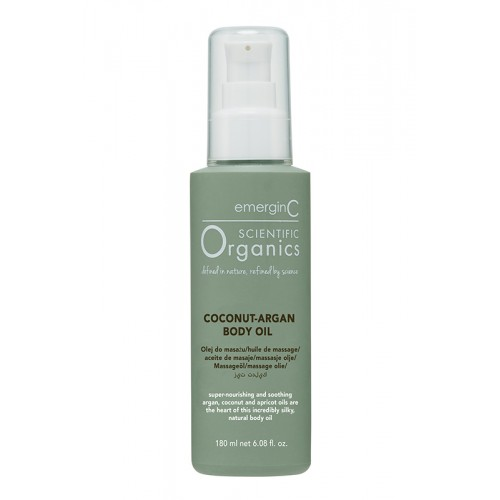 emerginC Scientific Organics Coconut Argan Body Oil
