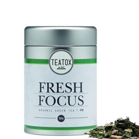 TEATOX Fresh Focus Bio Green Tea Gingko 50 gram