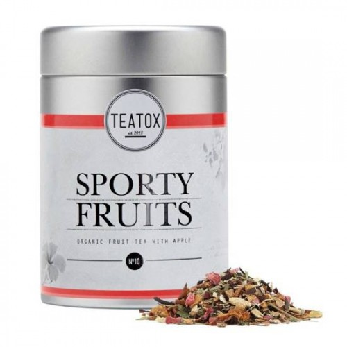 TEATOX Sporty Fruits Bio Tea With Apple