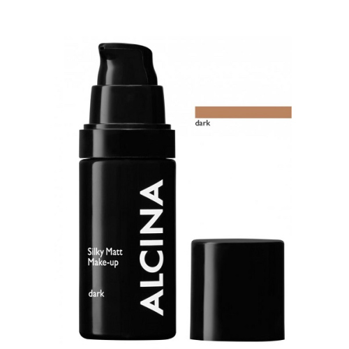 Alcina Silky Matt Make-up Dark