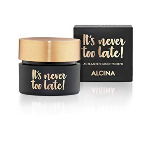 Alcina It's Never Too Late Anti Rimpelcrème