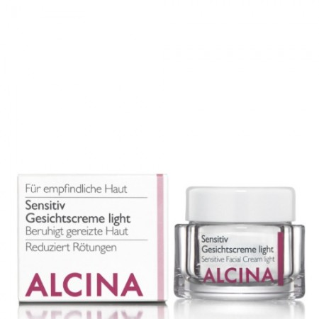 Alcina Sensitive Gezichtscrème Light
