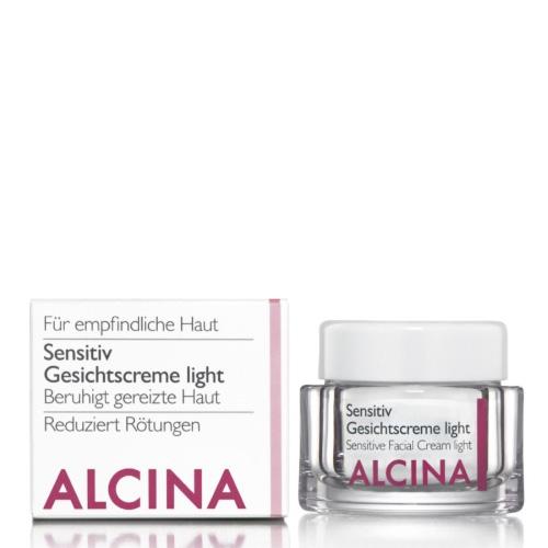 Alcina Sensitive Gezichtscrème Light