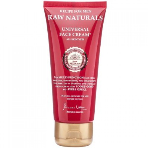 Recipe for Men Raw Naturals Universal Face Cream