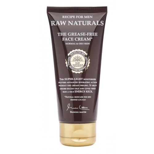 Recipe for Men Raw Naturals The Grease-Free Face Cream