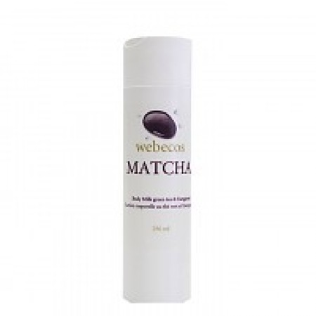 Webecos Matcha Body Milk
