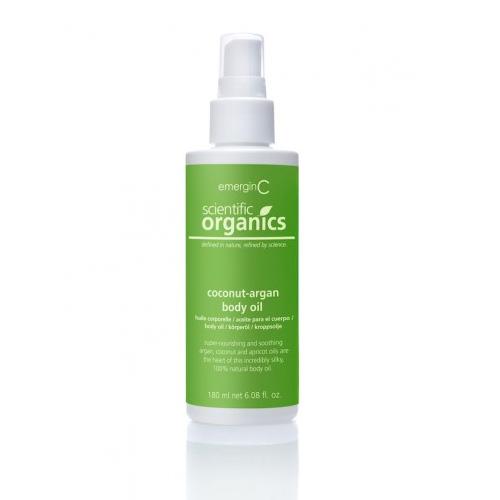 emerginC Scientific Organics Coconut Argan Body Oil